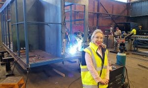 Gillian Summers - Managing Director of materials transfer and safety equipment manufacturer, Brain Industries.